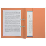 ExaClair Transfer Spiral Files 211 9063Z Orange Manilla