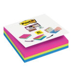 Post it Notes Super Sticky Assorted Lined 101 x 101 mm