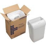 Kimberly Clark Waste Bin Freestanding 43 L White