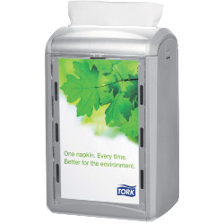 Tork Counter Napkin Dispenser Xpressnap Plastic Light Grey