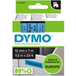DYMO Labelling Tape 45016 12 mm x 7 m Black Blue