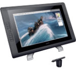 Wacom Graphics Tablet Cintiq 22 HD 546 cm 215 1 x USB 1 x DisplayPort Digital Video 1 x DVI I Digital Video Black