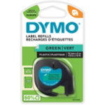 DYMO Thermal Label 91204 12 mm x 4 m Green
