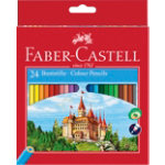 Faber Castell Colouring pencils 111224 Assorted 24 Pencils
