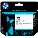 Original HP No72 grey and photo black printhead C9380A