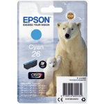 Epson 26 Original Ink Cartridge C13T26124012 Cyan Pack