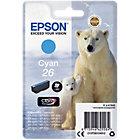 Epson 26 Original Ink Cartridge C13T26124012 Cyan