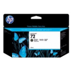 Original HP No72 black printer ink cartridge C9403A