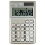 Canon LS 8TCG 8 Digit Eco Solar Powered Calculator