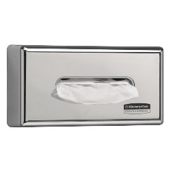 Facial tissue dispenser 7820 Chromed plastic  Silver