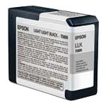 Epson T5809 Original Ink Cartridge C13T580900 Light Light Black