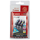 Canon CLI 521C M Y Original Ink Cartridge 3 Colours Multipack