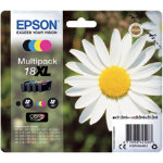 Epson 18XL Original Ink Cartridge C13T18164012 Black 3 Colours Pack 4