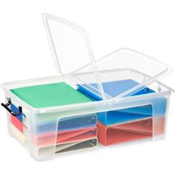 Strata Smart Plastic Storage Box 230H x 450W x 700Dmm 50 Litre
