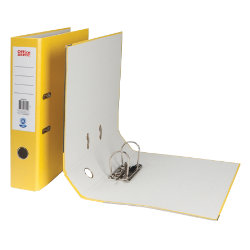 Office Depot Foolscap Lever Arch File Yellow