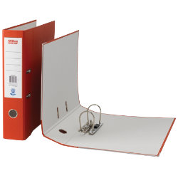 Office Depot Foolscap Lever Arch File Red