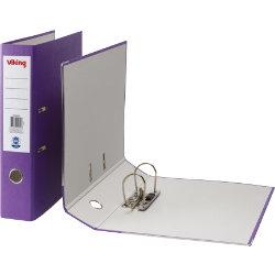 Office Depot Foolscap Lever Arch File Purple