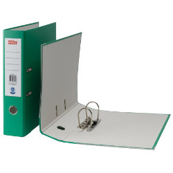 Office Depot Coloured Lever Arch Files Foolscap Green