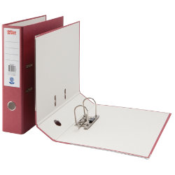 Office Depot Coloured Lever Arch Files Foolscap Burgundy