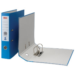 Office Depot Foolscap Lever Arch File Blue