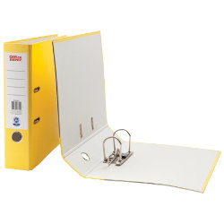Office Depot A4 Lever Arch File Yellow
