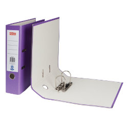 Office Depot A4 Management Lever Arch File  Purple