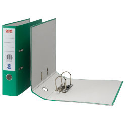 Office Depot A4 Lever Arch File Green