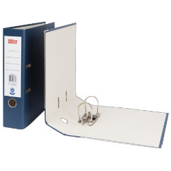 Office Depot A4 Lever Arch File Dark Blue