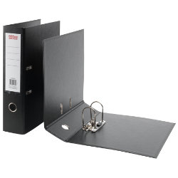Office Depot Polypropylene Foolscap Lever Arch Files Black