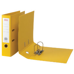 Office Depot Polypropylene A4 Lever Arch Files Yellow
