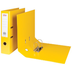 Office Depot Polypropylene Foolscap Lever Arch Files Yellow