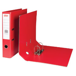 Office Depot Polypropylene Foolscap Lever Arch Files Red