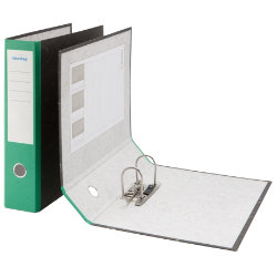 Niceday Foolscap Economy Lever Arch File Green