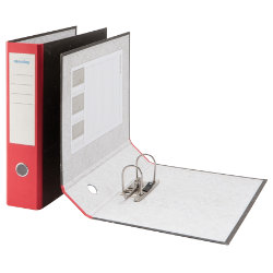 Niceday Foolscap Economy Lever Arch File Red