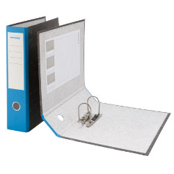 Niceday Foolscap Economy Lever Arch File Blue
