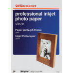 Office Depot Professional Inkjet Photo Paper Glacier A4 280gsm