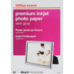 Office Depot Business Inkjet Photo Paper Semi Gloss A4 280gsm