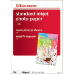 Office Depot Everyday Inkjet Photo Paper Matte A4 130gsm