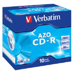 Verbatim CD R 700MB 52X Jewelcase Pack 10