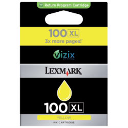 Lexmark 100XL Yellow Printer Ink Cartridge 14N1071E