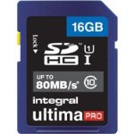 Integral SDHC Card 16GB UltimaPro 16 GB