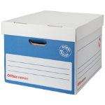 Office Depot Super Strong Easy Assembly XL Archive Box Blue Pack of 10
