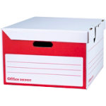 Office Depot Easy Assembly Fliptop Box Pack of 10