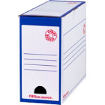 Office Depot Super Strong Easy Assembly Transfer File Blue Pack of 10