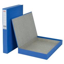 Office Depot Coloured Box Files Slimline Blue