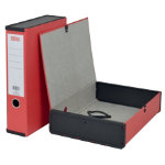 Office Depot Box File Lock Spring With Ring Pull And Catch 75mm Spine A4 Red