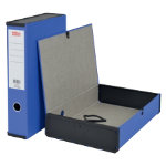 Office Depot Pvc Box File Foolscap Blue
