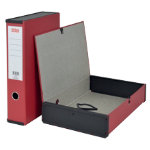 Office Depot Pvc Box File Foolscap Red