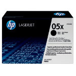 HP 05X Laserjet Black Toner Cartridge
