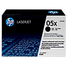 Original HP high capacity CE505X LaserJet black toner cartridge